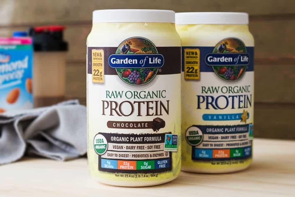 Vegan protein powder for Gym