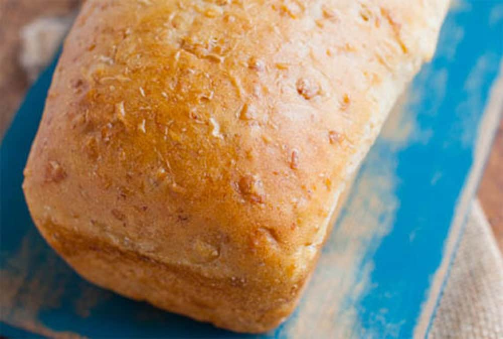 Tip to make bread loaf for Vegans