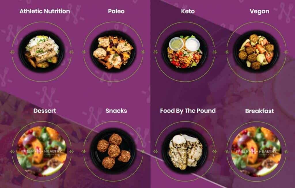 Fresh n Healthy vegan Meal plans