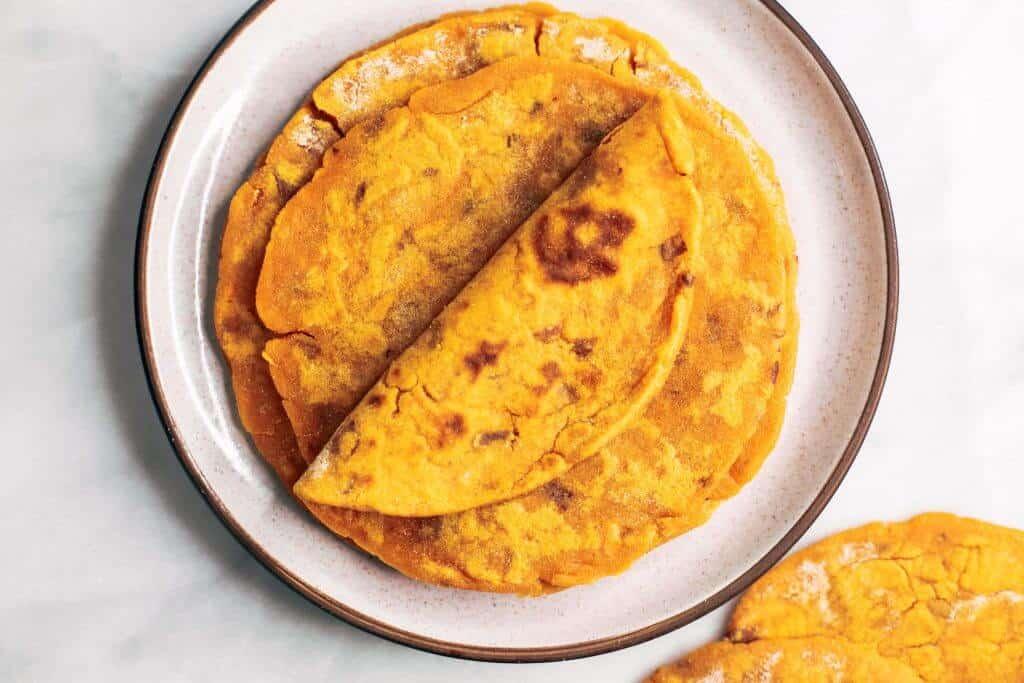Vegan Corn Tortillas