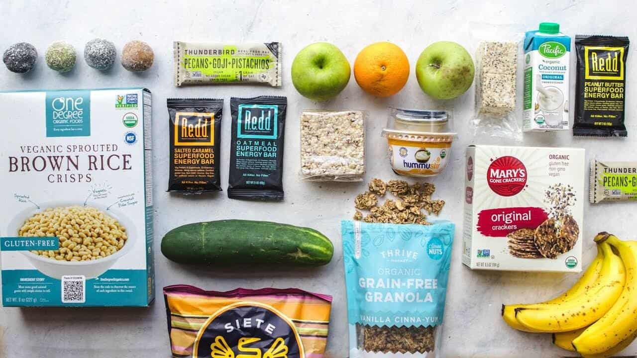Vegan Travel Snacks