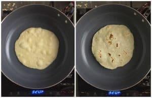 homemade vegan tortillas