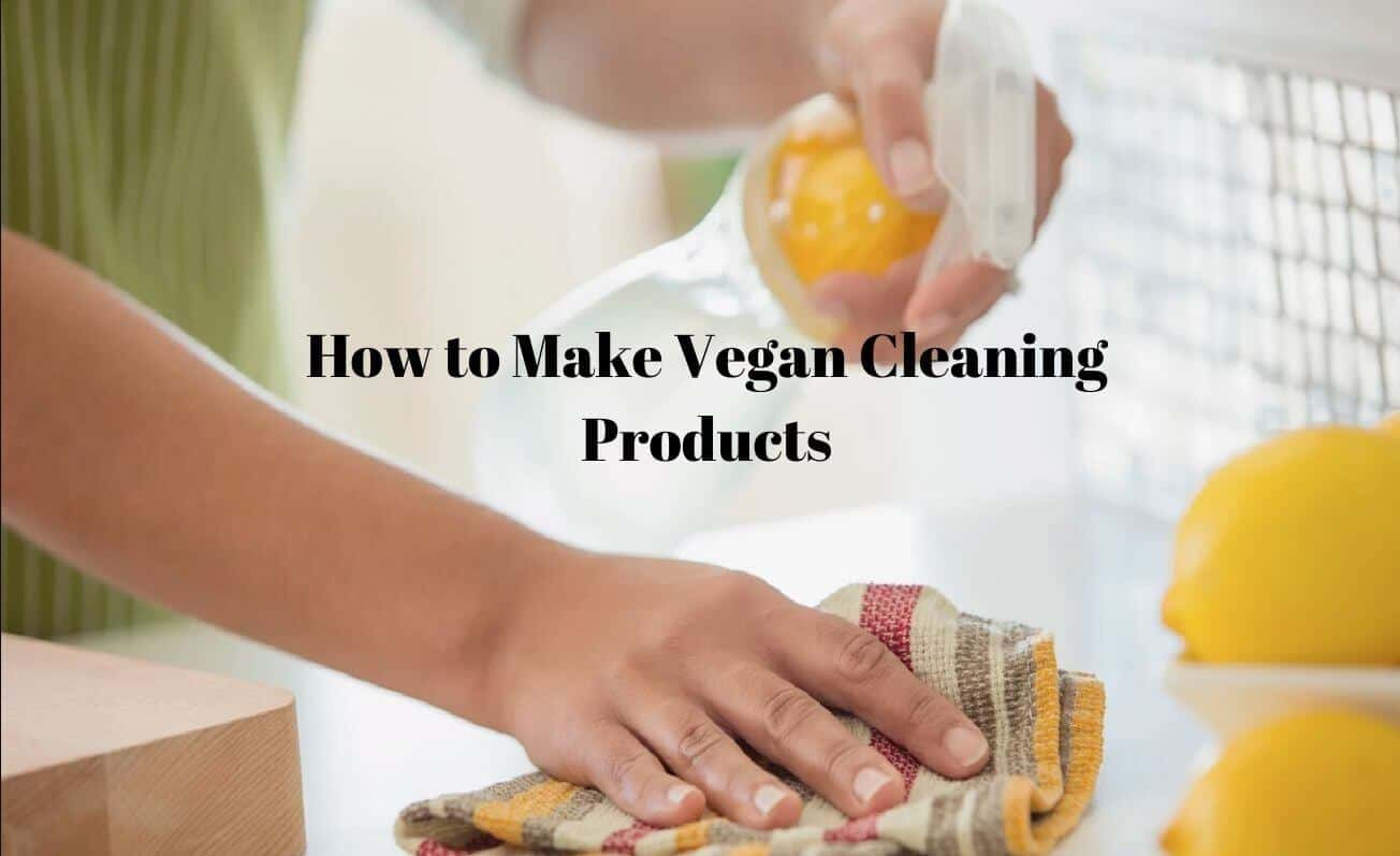 How to Make your Own Vegan Cleaning Products
