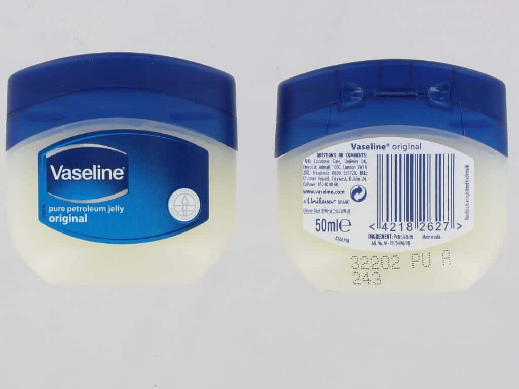 Is vaseline vegan