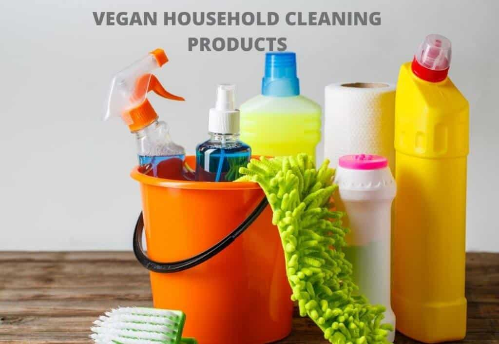 vegan household products