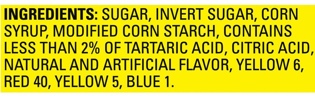 what are sour patch made of