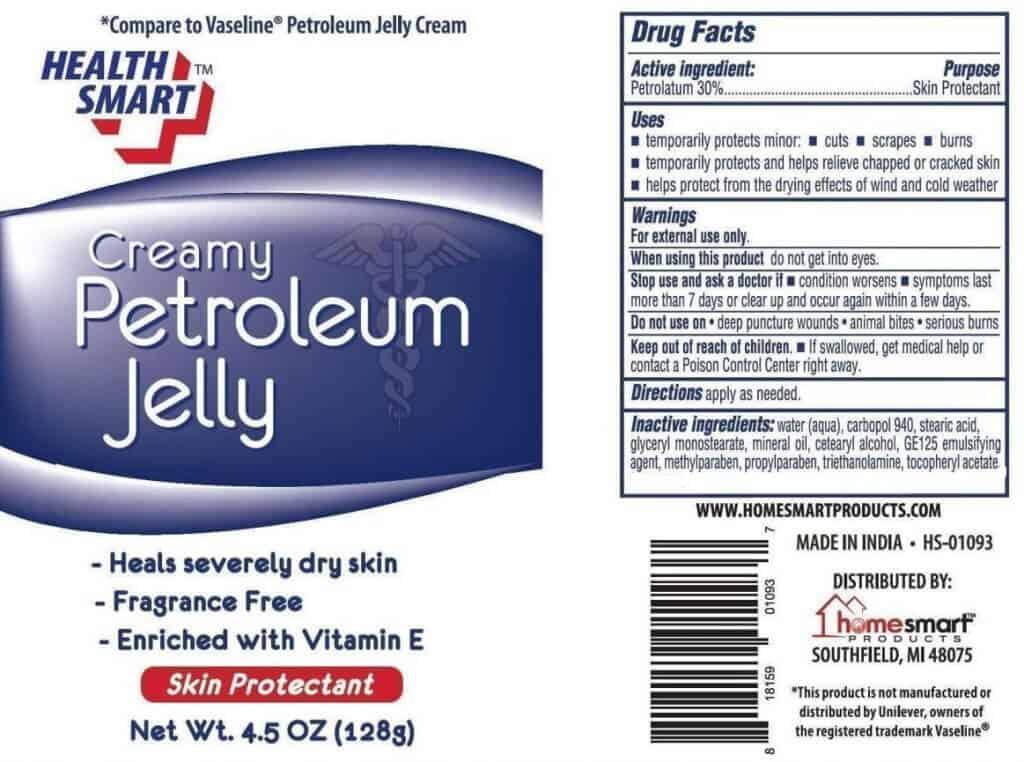vaseline ingredients