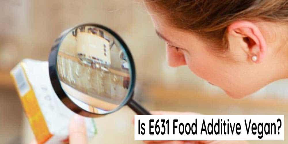 Is E631 Flavor-Enhancer Vegan