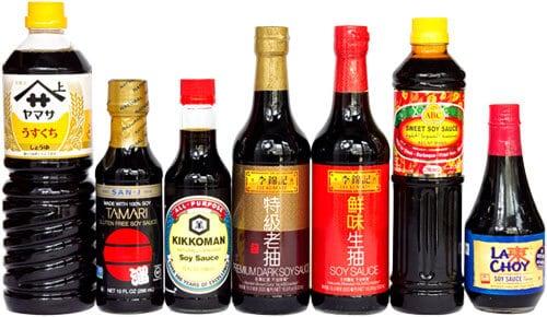 is kikkoman soy sauce vegan