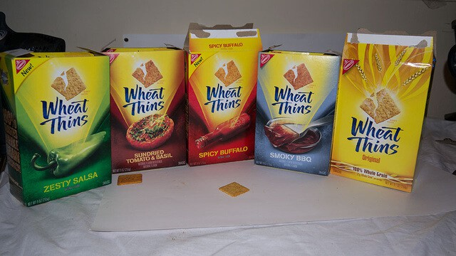 wheat thins flavors