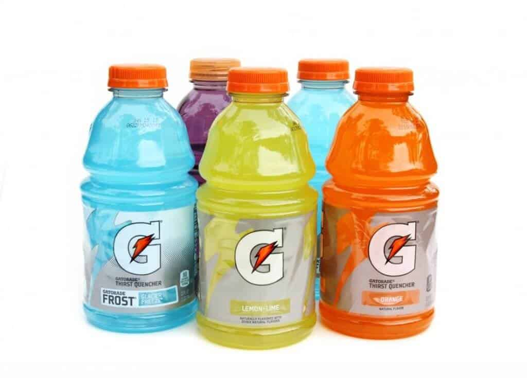 drinking expired gatorade