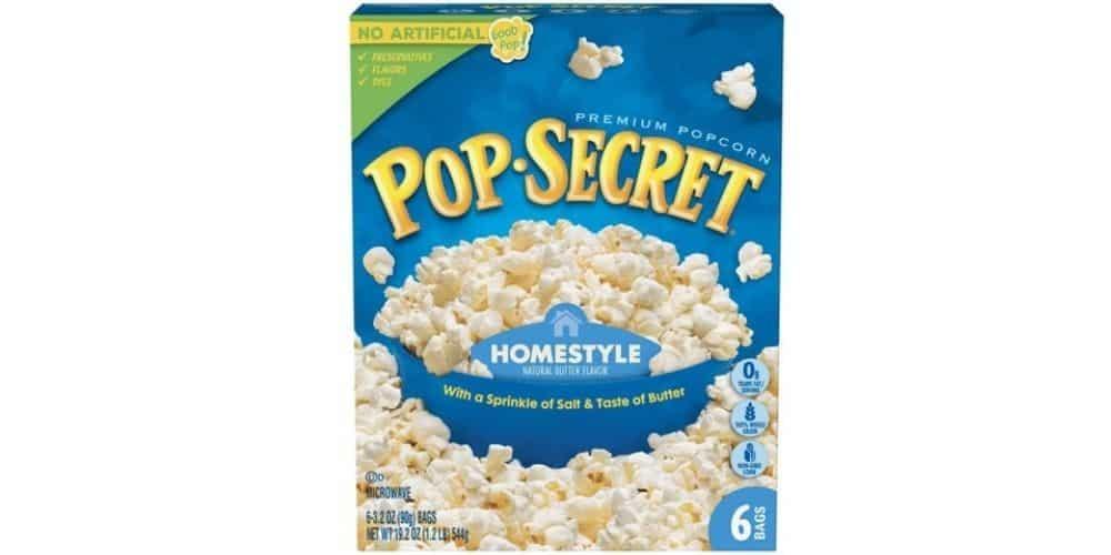 Vegan Microwave Popcorn