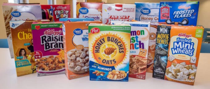 list of gluten free cereals