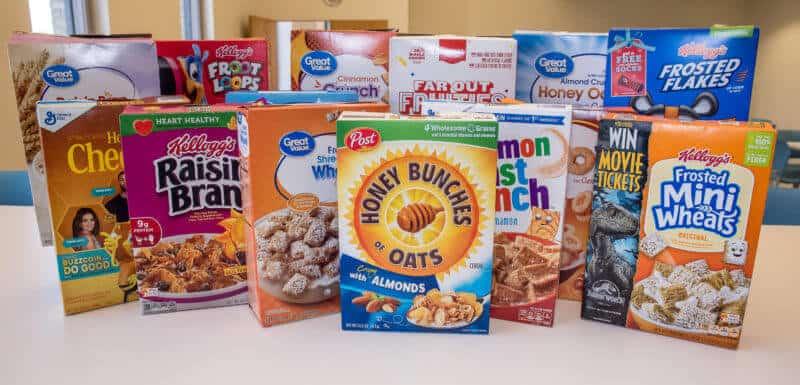 Gluten-Free Cereal List