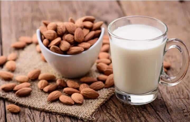 is it ok to freeze almond milk