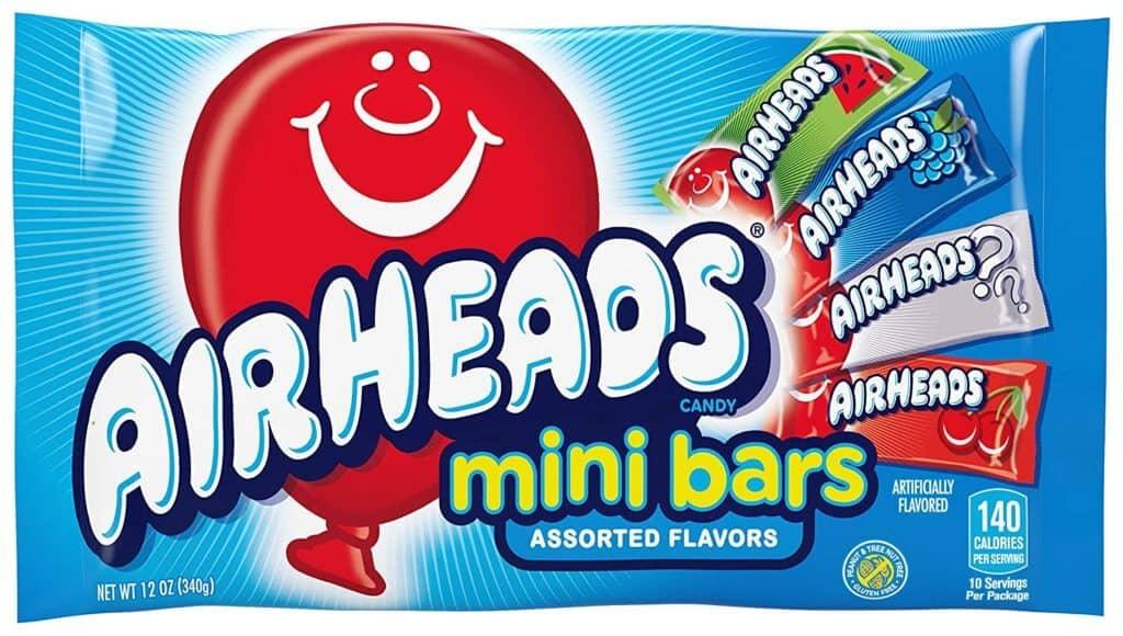 do airheads have gelatin