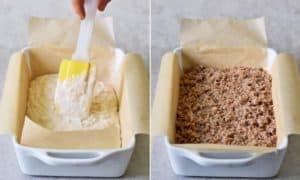 baking the vegan cinnamon coffee cake