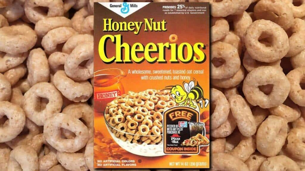 honey nut cheerios vegan