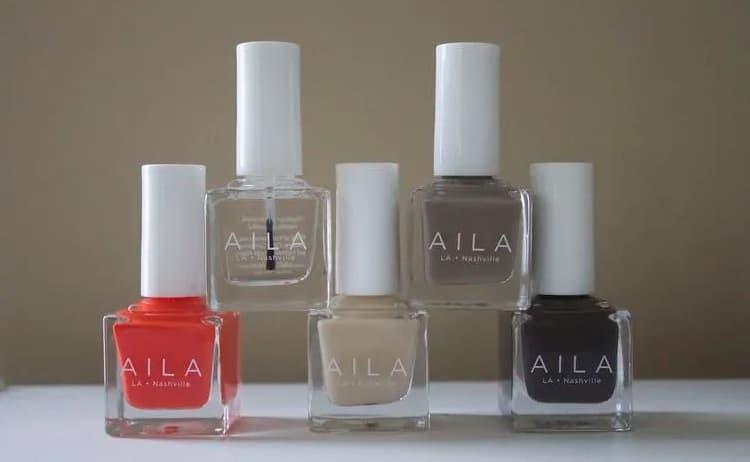 Aila - Vegan Nail polish Brand