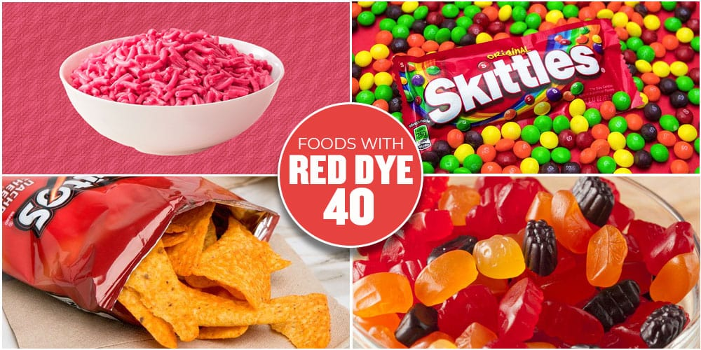 Foods With Red Dye 40