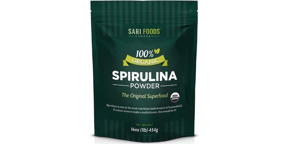 Sari Foods Pure Organic vegan Spirulina Powder