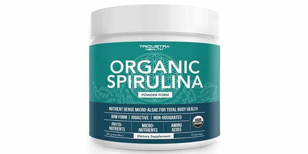 Triquetra Health best Organic Spirulina Powder