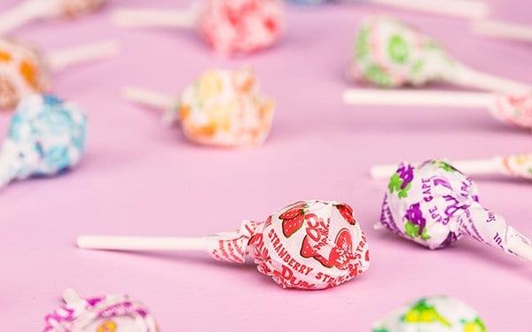 are dum dum lollipops vegan