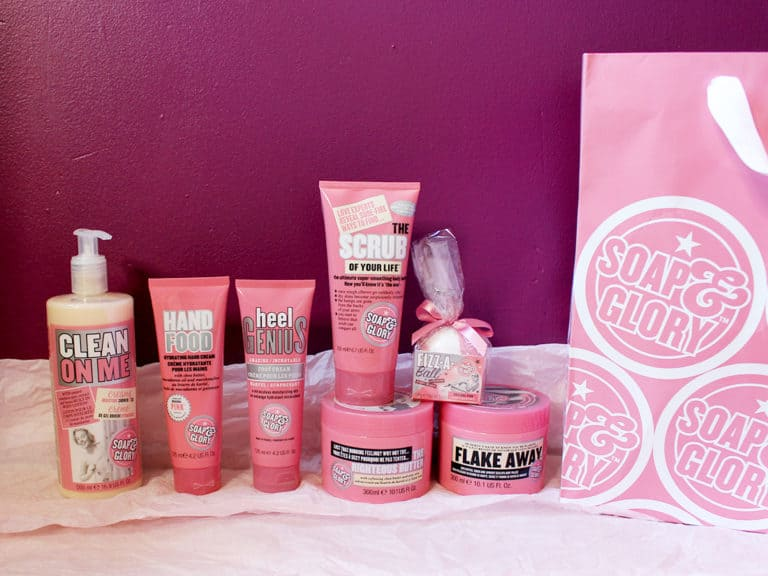 soap and glory animal testing