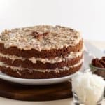 vegan german chocolate cake recipes