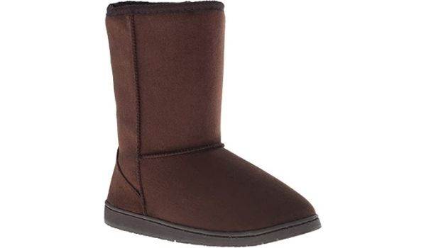 Dawgs Faux vegan shearling boots