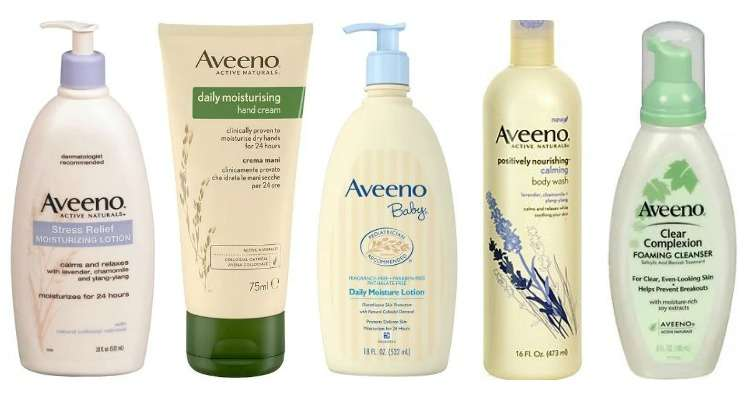Is Aveeno sold in China