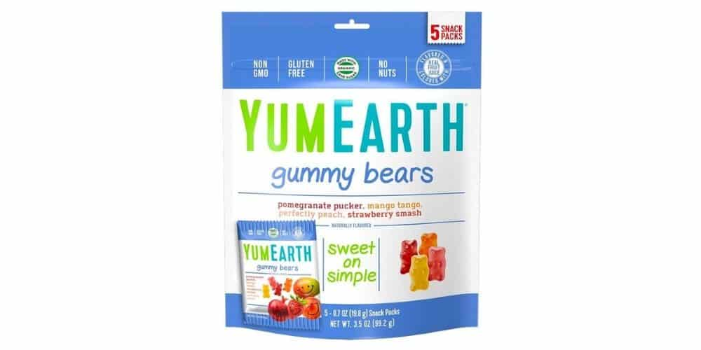 YumEarth vegan Gummy Bears