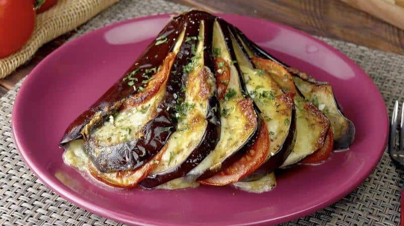 unripe eggplant