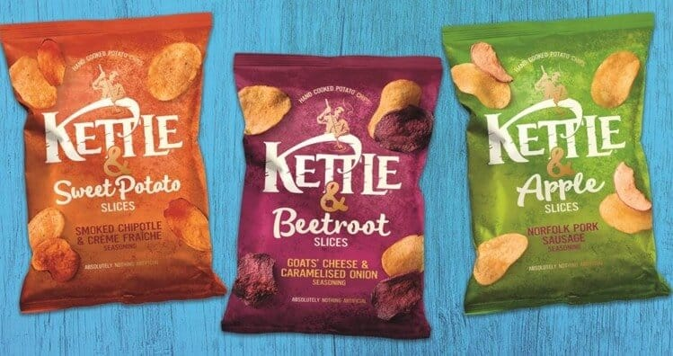 Kettle Chips - surprisingly vegan snack