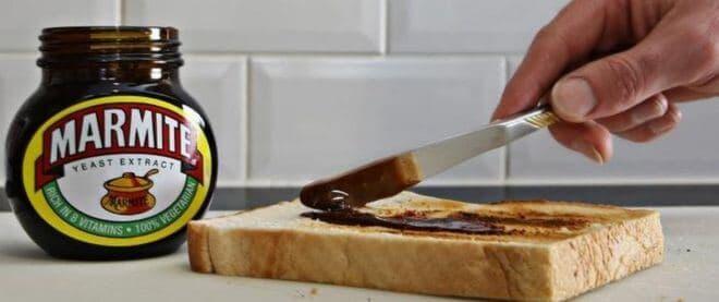 Marmite - unexpected vegan foods