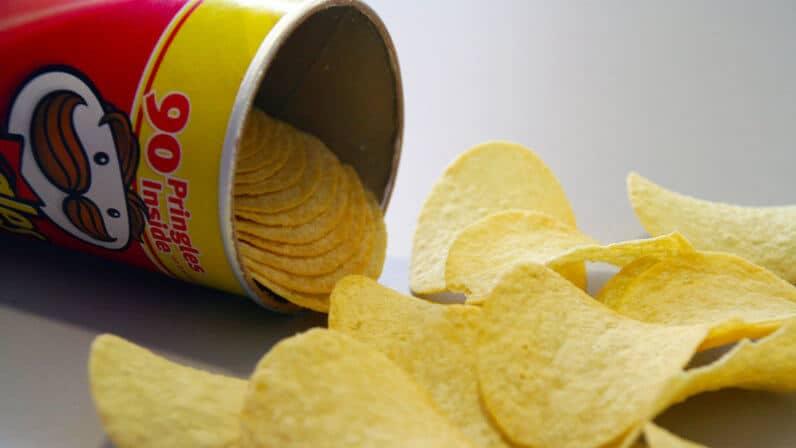 Pringles - accidentally vegan