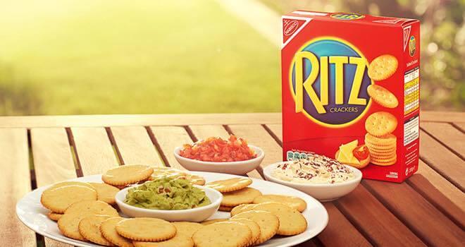 Ritz Crackers - unexpected vegan foods