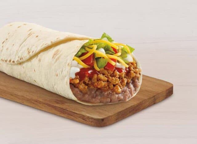 Taco Bell's Bean Burrito