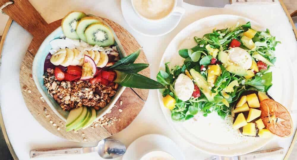Various Plant Based Food Items