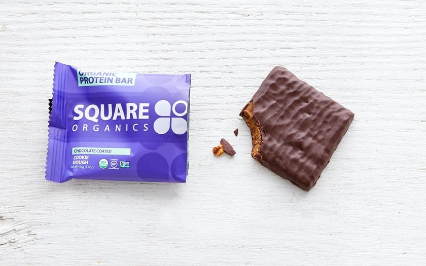 square protein bar