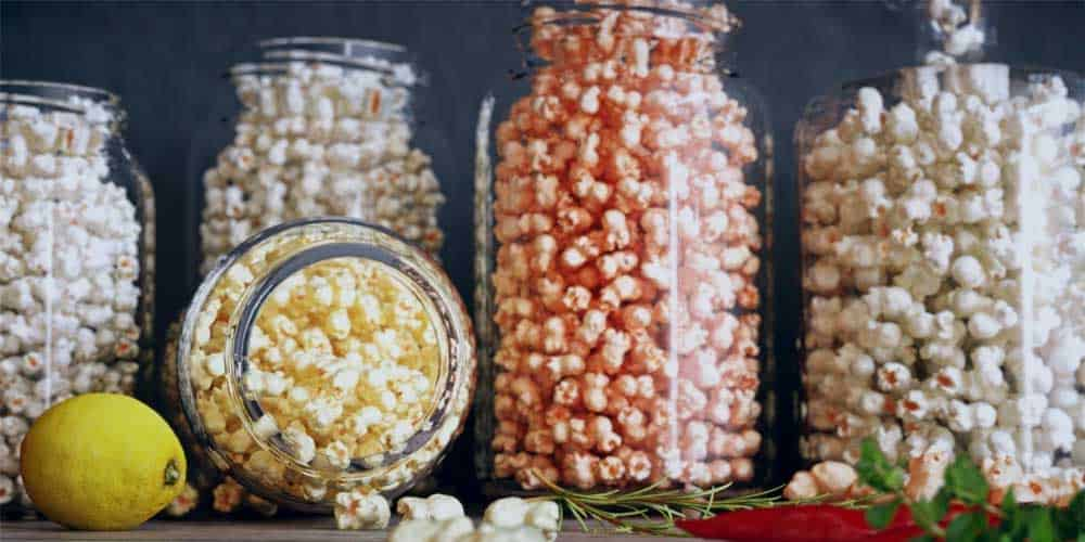 Store Vegan Popcorn in an airtight container