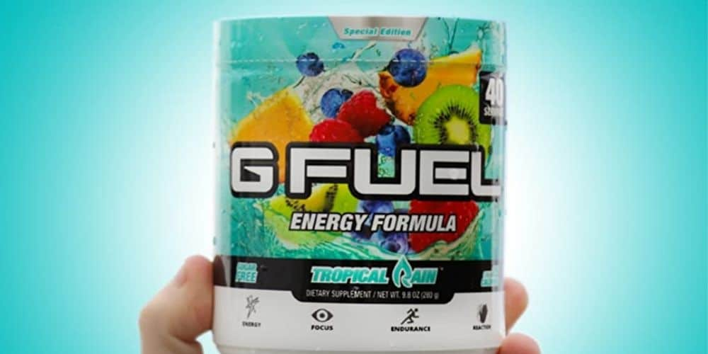 g fuel nutrition facts