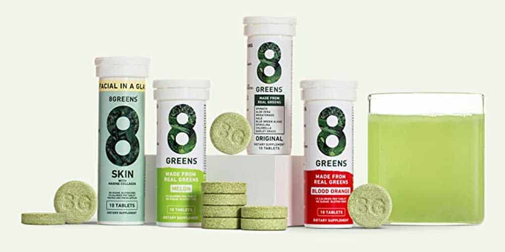 8Greens Effervescent Tablets