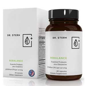 Dr Stern Rebalance vegan Probiotic Supplement
