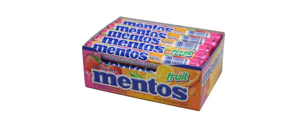 Are Mentos Fruit Vegan