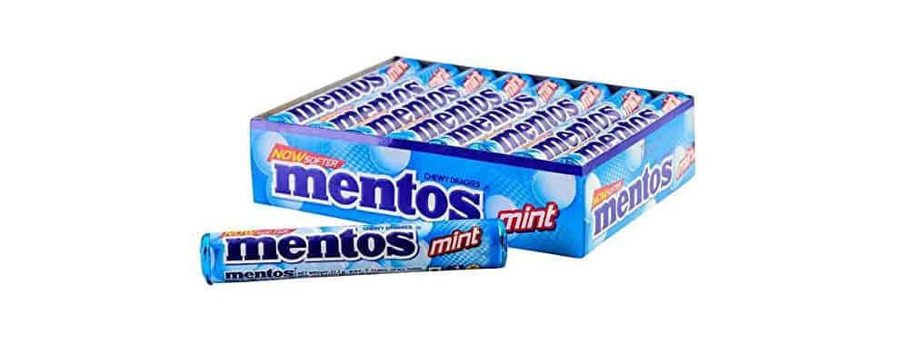 Are Mentos Mint Vegan