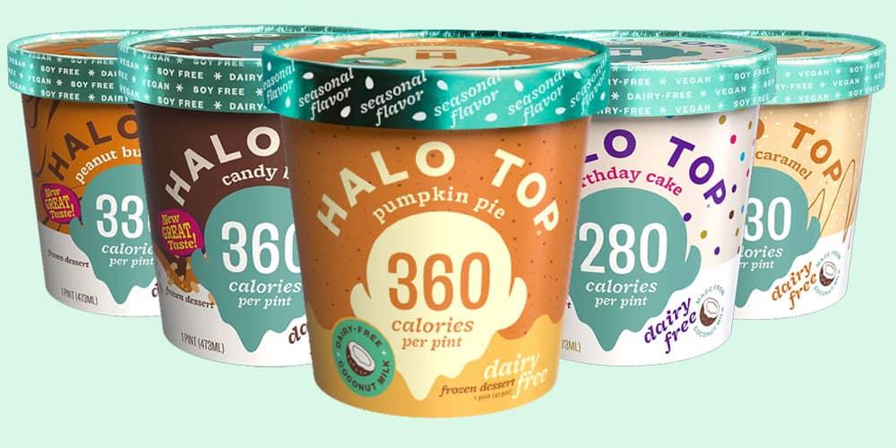 Halo Ice Creams Vegan Flavors