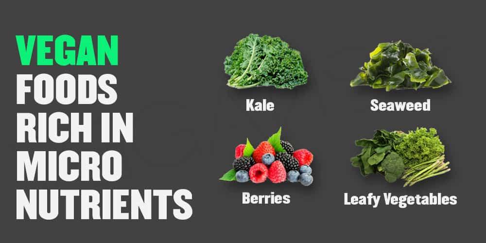 Vegan Foods Rich in Micronutrients