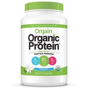 Vegan Protein Powder Supplement for plant-based bodybuilders