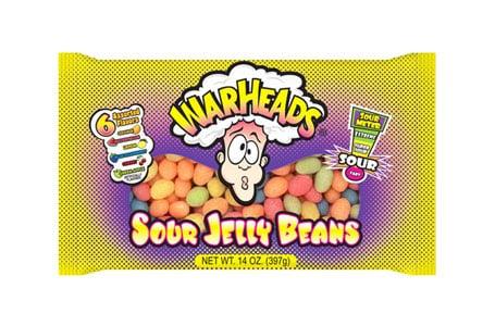 Warheads Vegan Jelly Beans